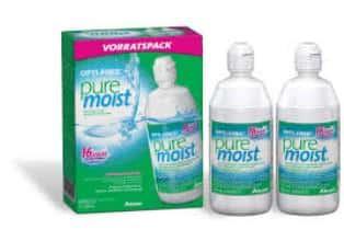 Opti-Free Pure Moist Pack 2x300ml