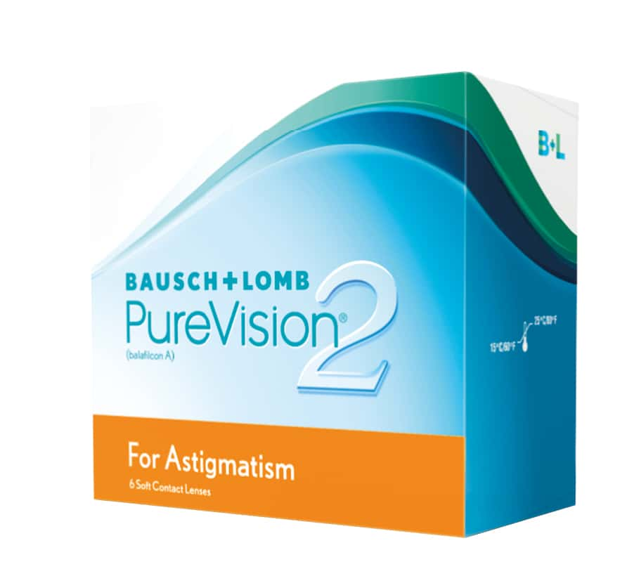 PureVision 2 For Astigmatism 6L