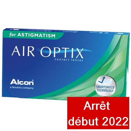 Air Optix Aqua for Astigmatism 6L