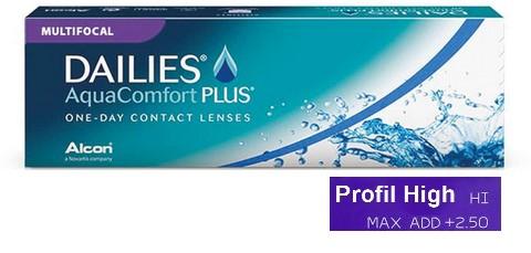 Dailies AquaComfort Plus Multifocal High 30L