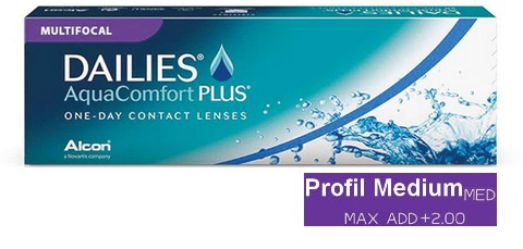 Dailies AquaComfort Plus Multifocal Medium 30L