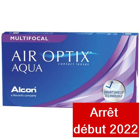 Air Optix Aqua Multifocal Low 6L