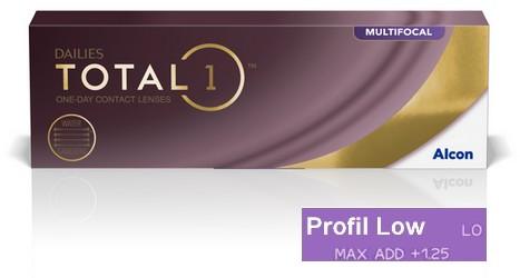 Dailies Total 1 Multifocal Low 30L