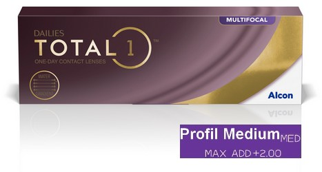 Dailies Total 1 Multifocal Medium 30L