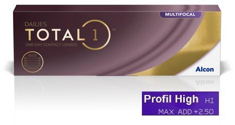 Dailies Total 1 Multifocal High 30L