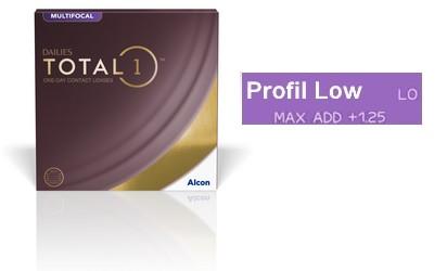 Dailies Total 1 Multifocal Low 90L