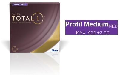 Dailies Total 1 Multifocal Medium 90L