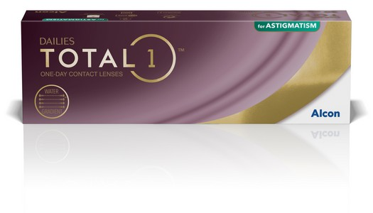 Dailies Total 1 for Astigmatism 30L
