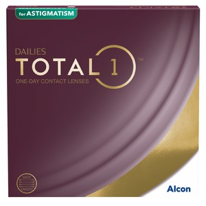 Dailies Total 1 for Astigmatism 90L