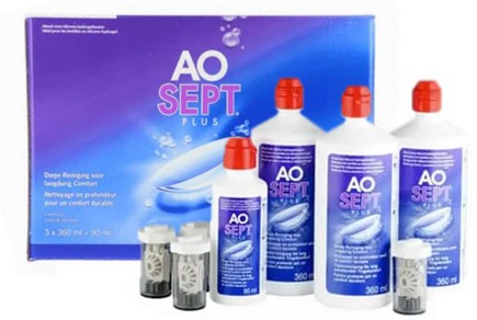 AoSept Plus Pack 3x360ml