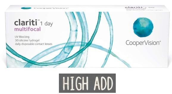 Clariti 1 Day Multifocal High 30L