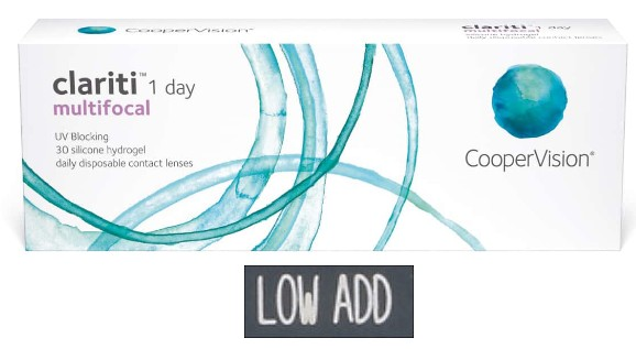 Clariti 1 Day Multifocal Low 30L