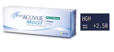 1 Day Acuvue Moist Multifocal High 30L