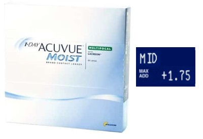 1 Day Acuvue Moist Multifocal Medium 90L