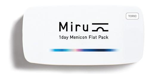 Miru 1 Day Flat Pack Toric 30L